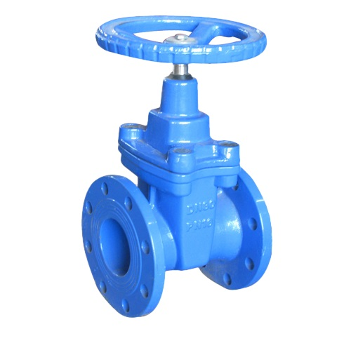 CI WCB GATE VALVE FLANGED END