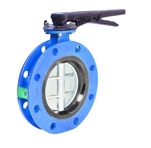 DOUBLE FLANGE BUTTERFLY VALVE1