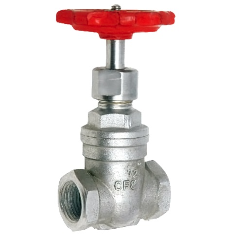 INVESTMENT CASTING GATE VALVE SCREWED END