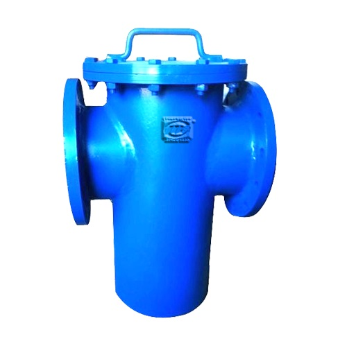 MS FABRICATED BASKET – TYPE STRAINER FLANGED END