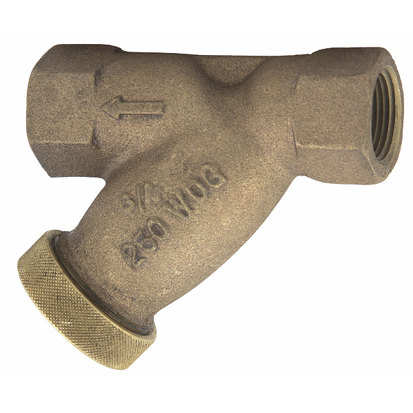 Small Bronze Wye-Pattern Strainers